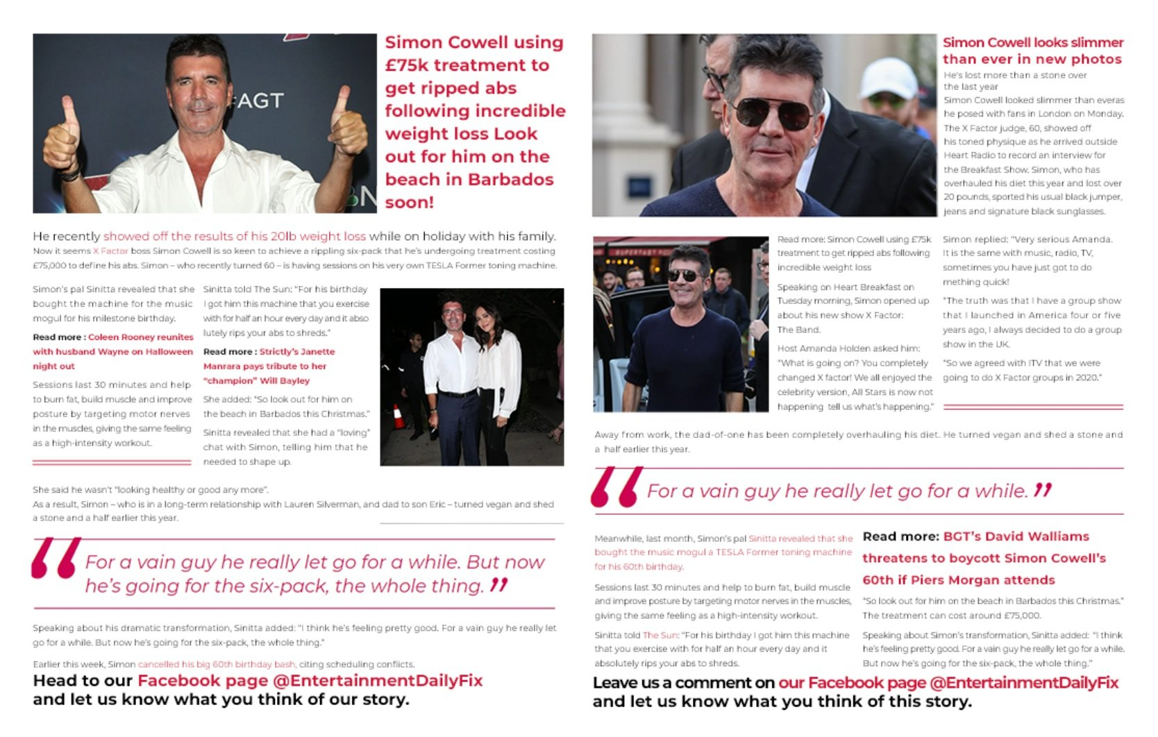 Simon Cowell Magazine